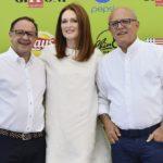 Pietro Rinaldi, Julianne Moore, Claudio Gubitosi