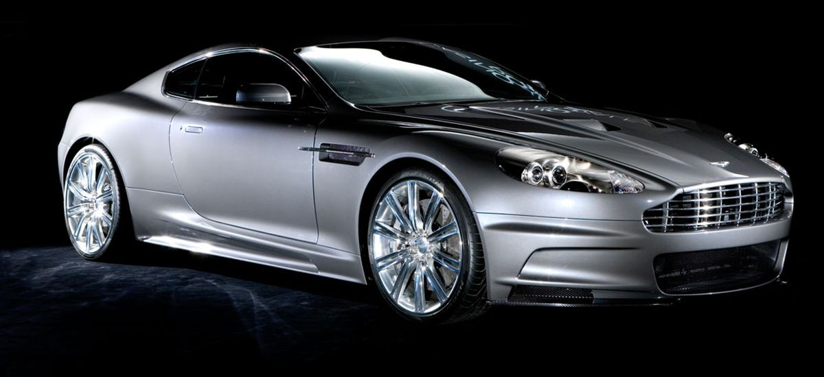 Aston Martin DBS, James Bond, Casino Royale