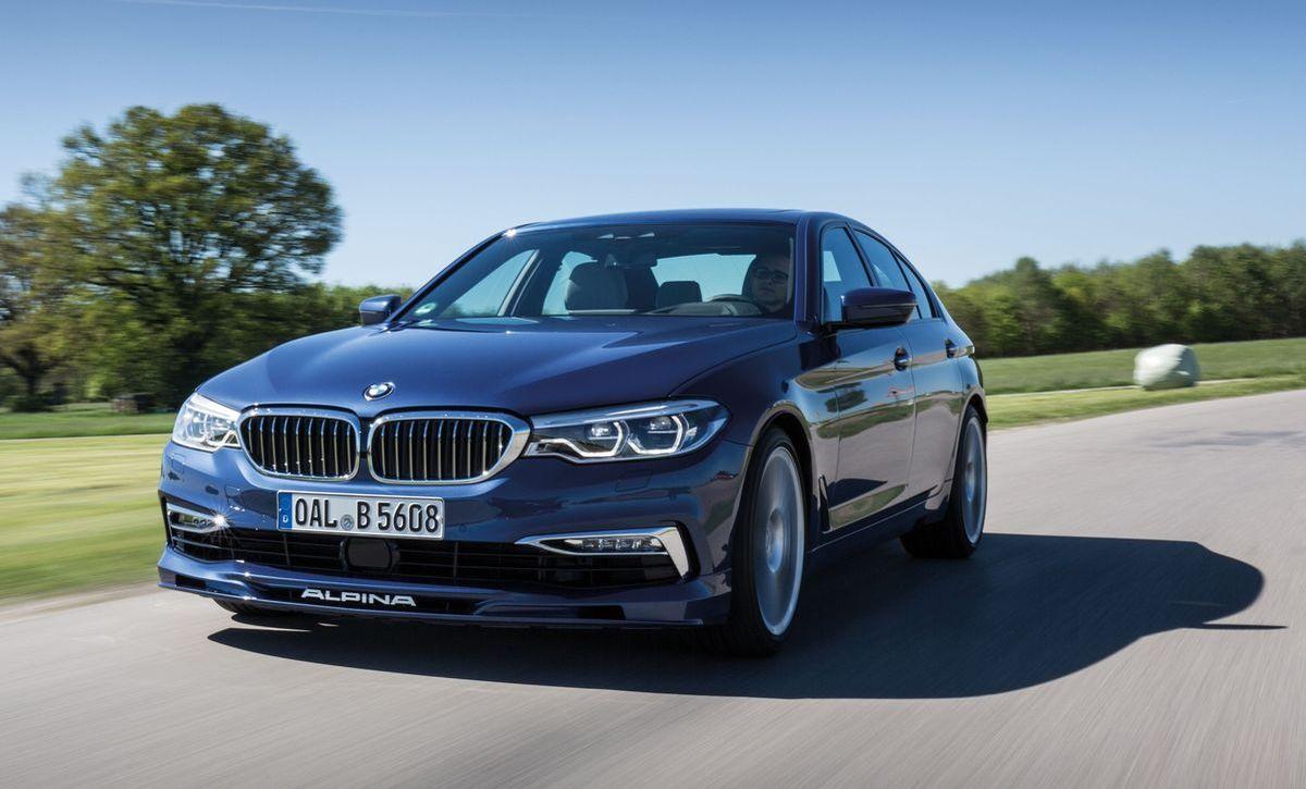 Der BMW Alpina D5 S wird dem B5 Bi-Turbo optisch ähnlich sein