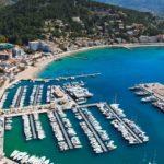Port Soller, Mallorca mit der Drohne