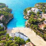 Cala Santanyi, Mallorca mit der Drohne
