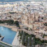 Palma de Mallorca, Mallorca mit der Drohne