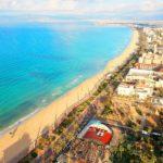 Platja de Palma, Mallorca mit der Drohne