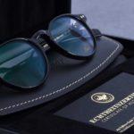 Luxusbrille mit 18 Karat Gold