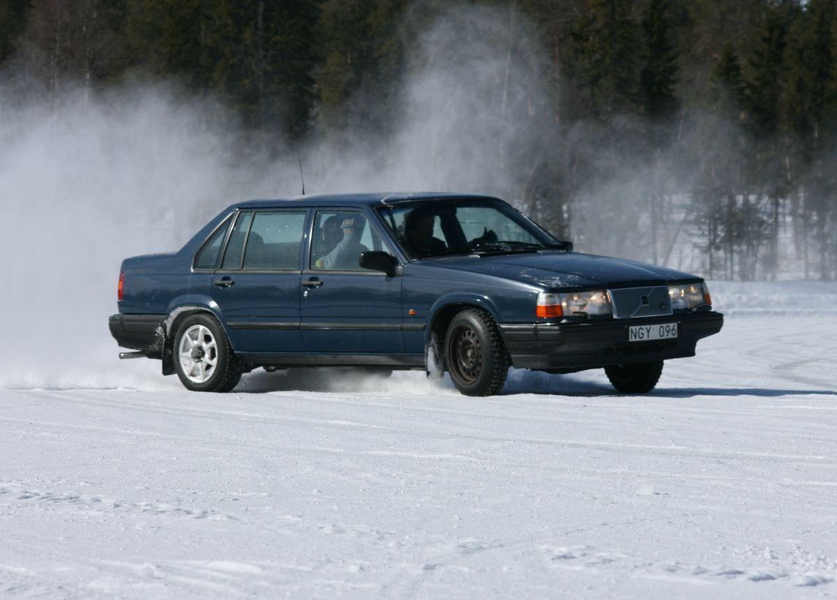 Ice-Driving in Schweden