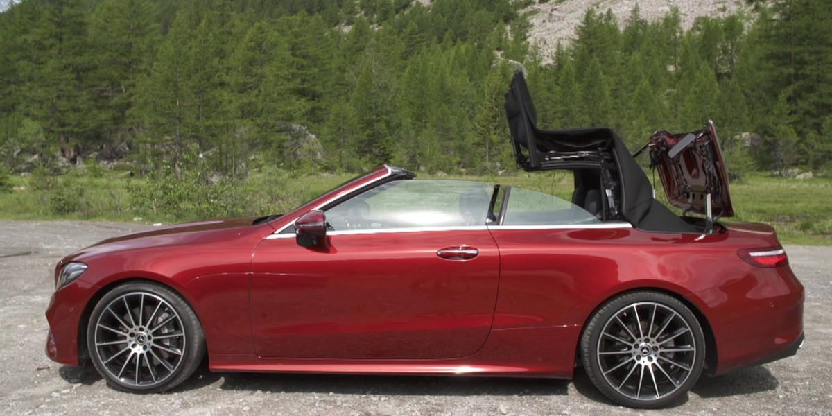 #Test Video: Mercedes-Benz E-Klasse Cabriolet