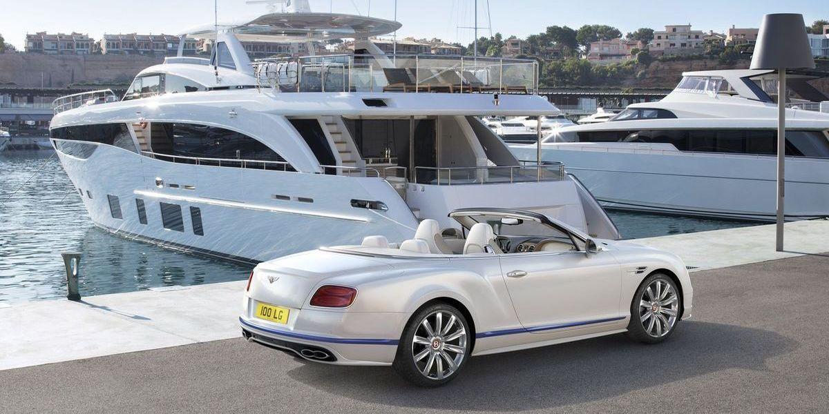 Maritimes Luxus-Cabriolet