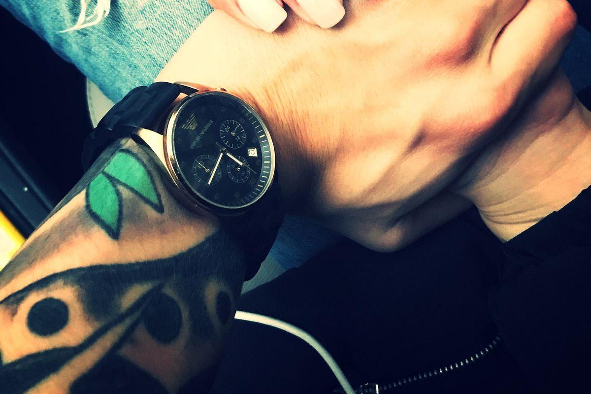 Stylisches Tattoo