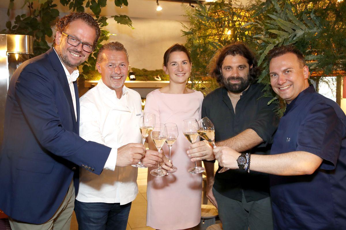Jens-Peter Gardthausen, Karl-Heinz Hauser, Marianne Klein, Konstantin Filippou, Tim Raue
