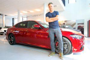 Tom Wlaschiha, Alfa Romeo Giulia Quadrifoglio