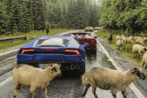 Lamborghini Roadtrip, Transfăgărășan