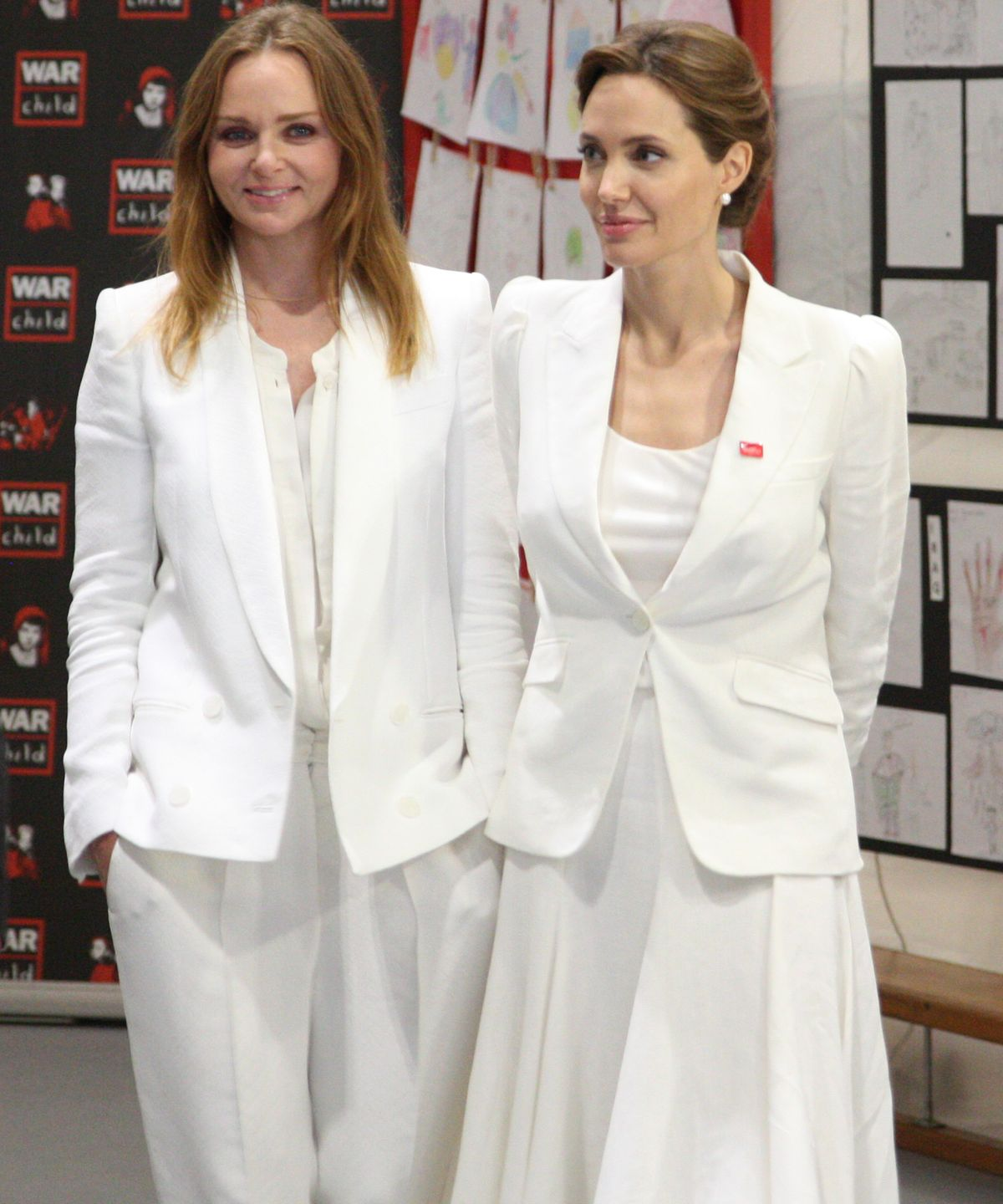 Stella McCartney, Angelina Jolie