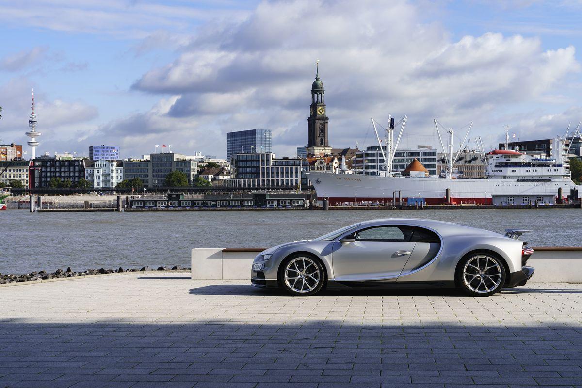 Bugatti Chiron, Hamburg