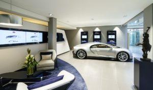 Bugatti Chiron, Showroom Hamburg