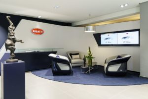 Bugatti Showroom Hamburg
