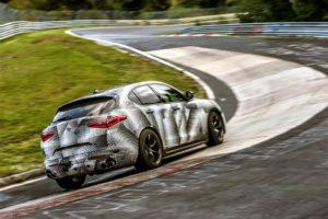 Alfa Romeo Stelvio Quadrifoglio, Nürburgring-Nordschleife, Rekord 2017