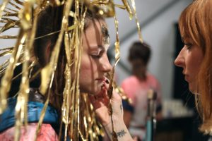 Backstage: Desigual Model, NYFW