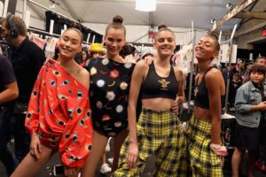 Backstage: Desigual Models, NYFW
