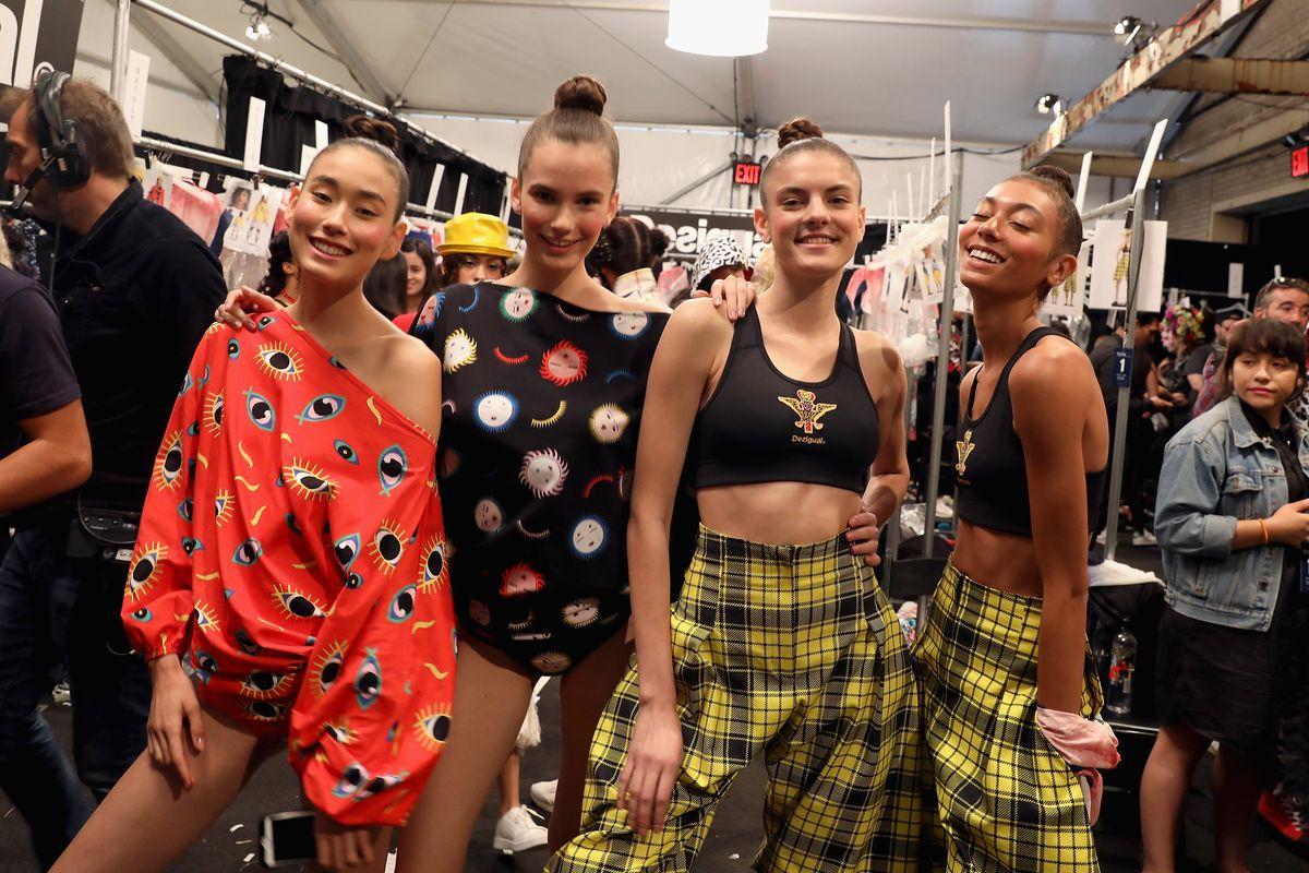 Backstage: Desigual Models, NYFW