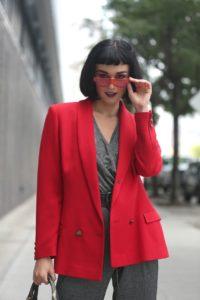 Street Style: Armela Jakova, Desigual, NYFW