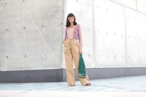 Street Style: María Bernard, Desigual, NYFW