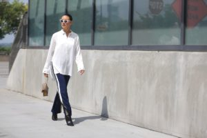 Street Style: Yanina Ushe, Desigual, NYFW