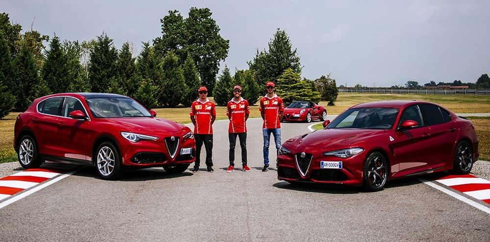 Kimi Räikkönen, Sebastian Vettel, Antonio Giovanizzi