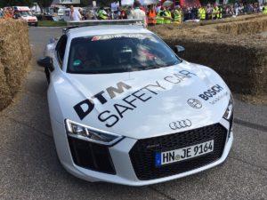 Audi Sport, Hamburger Stadtpark Revival: R8 DTM Safety-Car