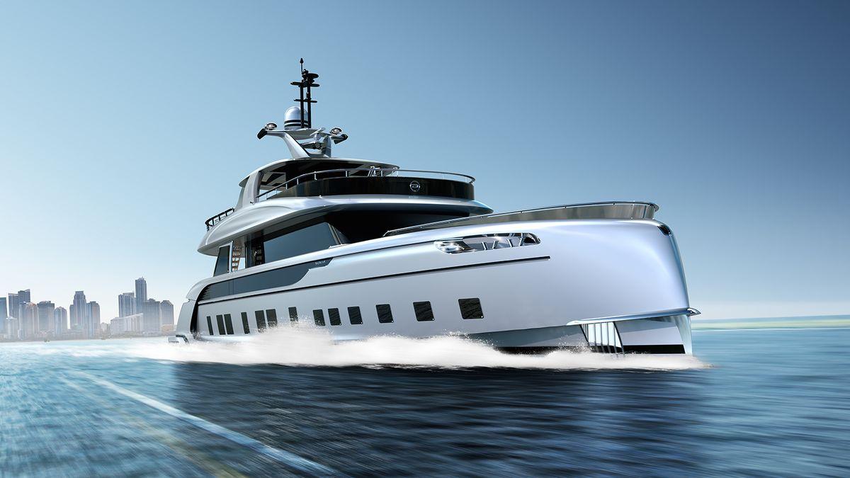 Superyacht: Dynamiq GTT 115