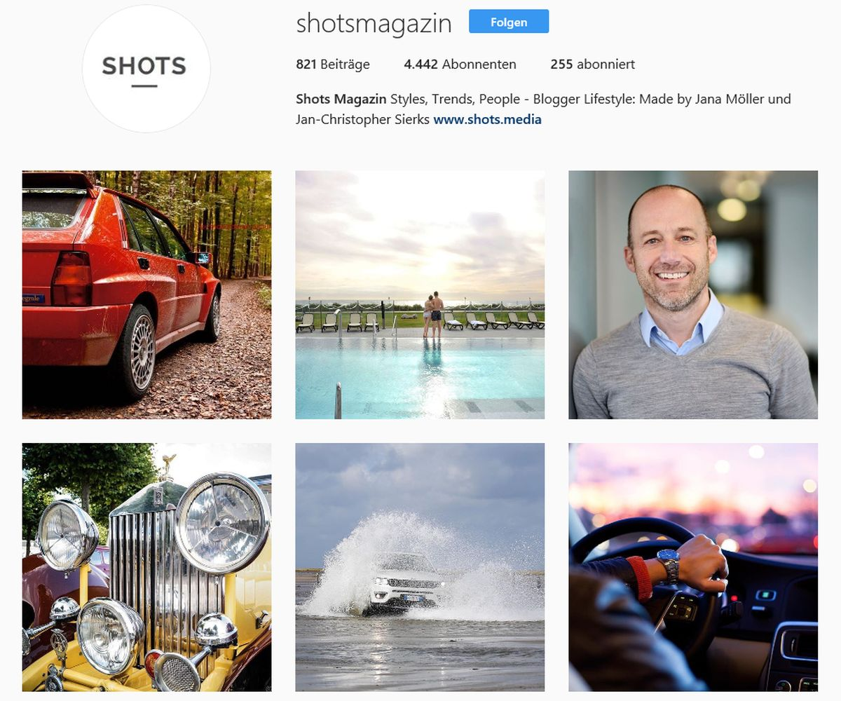 Instagram: Shots Magazin