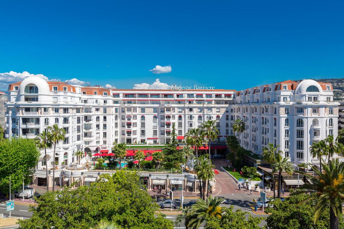Frankreich, Cannes: Hotel Barriere Le Majestic