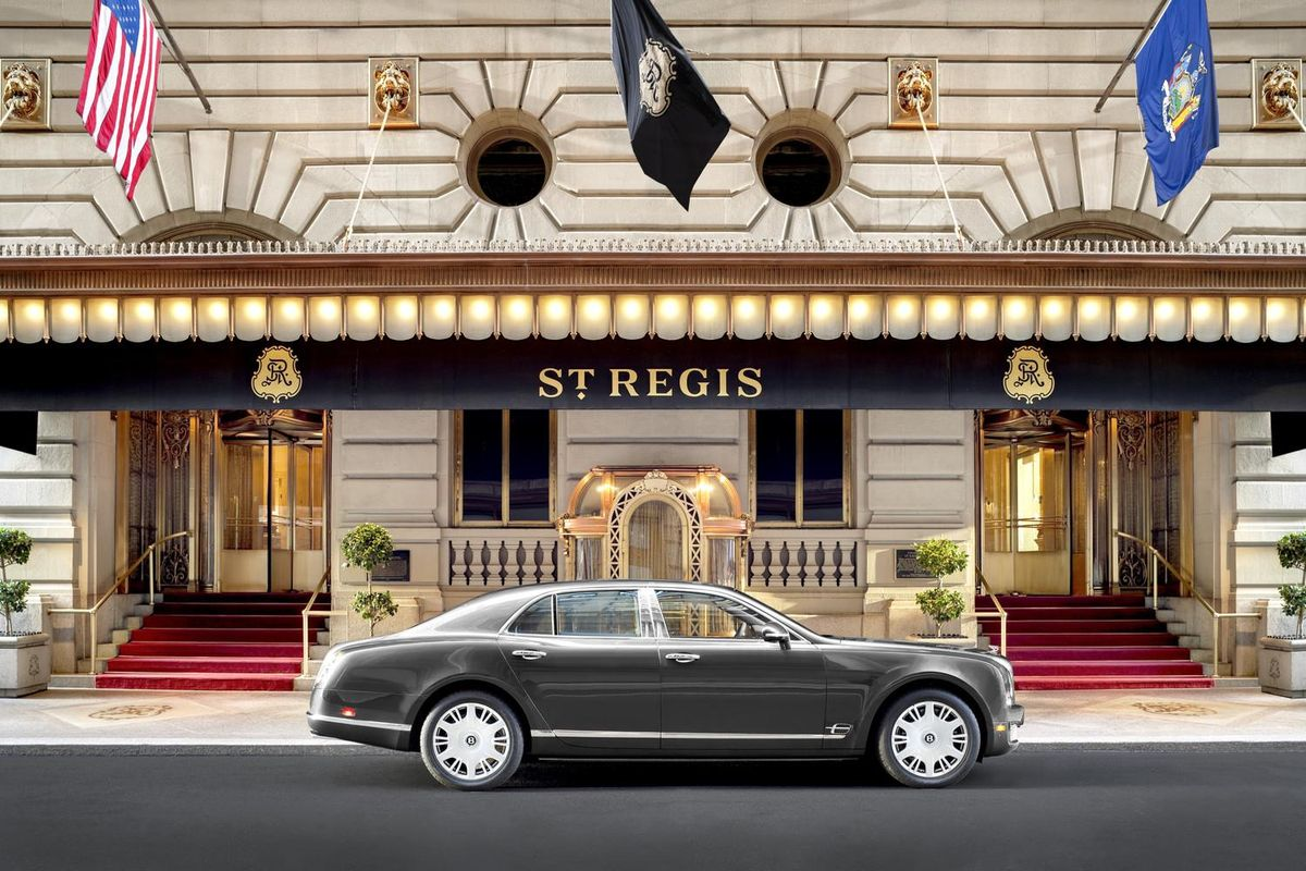 USA, New York City: St. Regis