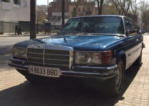 Mercedes-Benz 450 SEL, Juan Carlos
