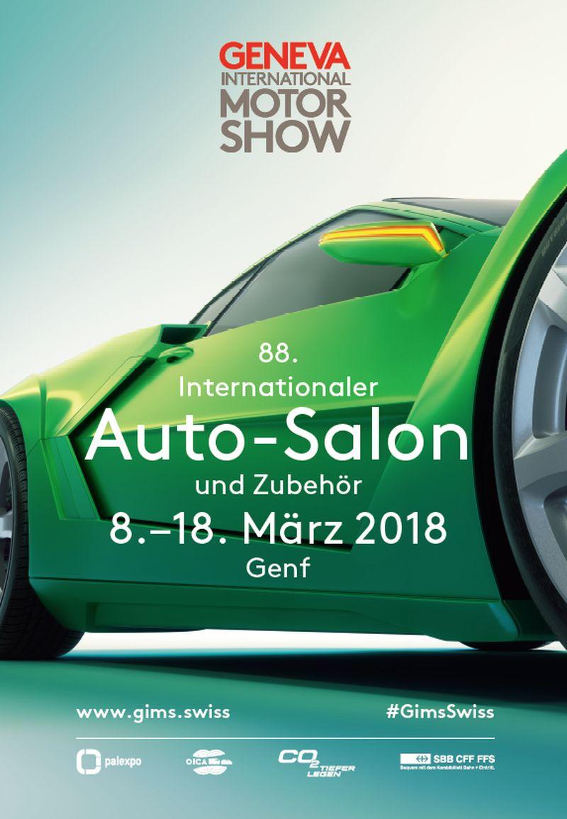 Plakat: 88. Genfer Autosalon 2018