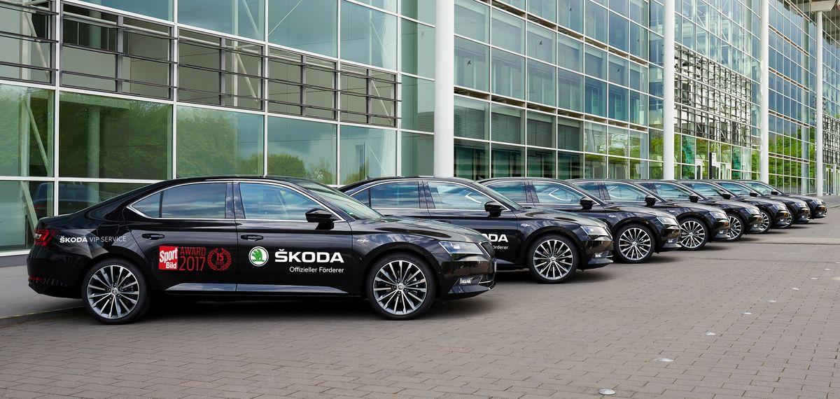 Skoda shuttelt zahlreiche Events