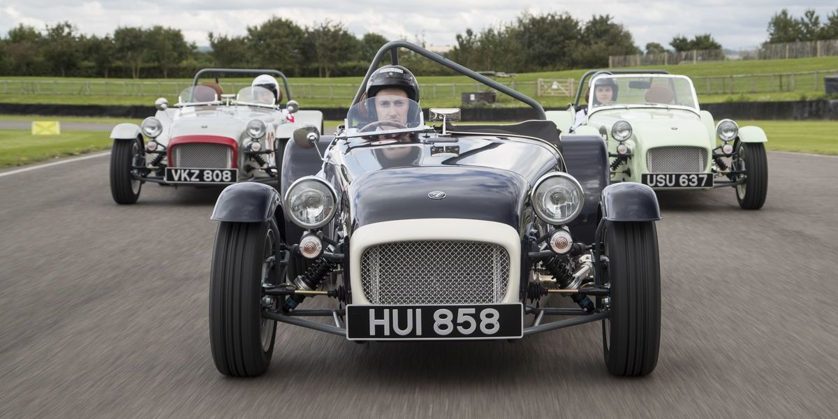 Caterham: Shooting in Goodwood