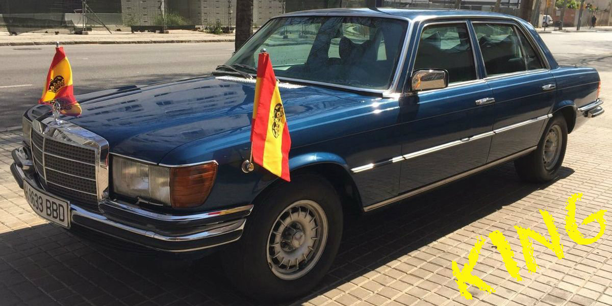 Der 450 SEL von Juan Carlos