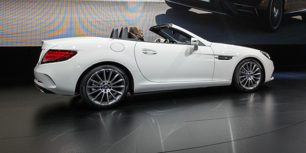 Test Video: Mercedes-Benz SLC 250 D (2017)