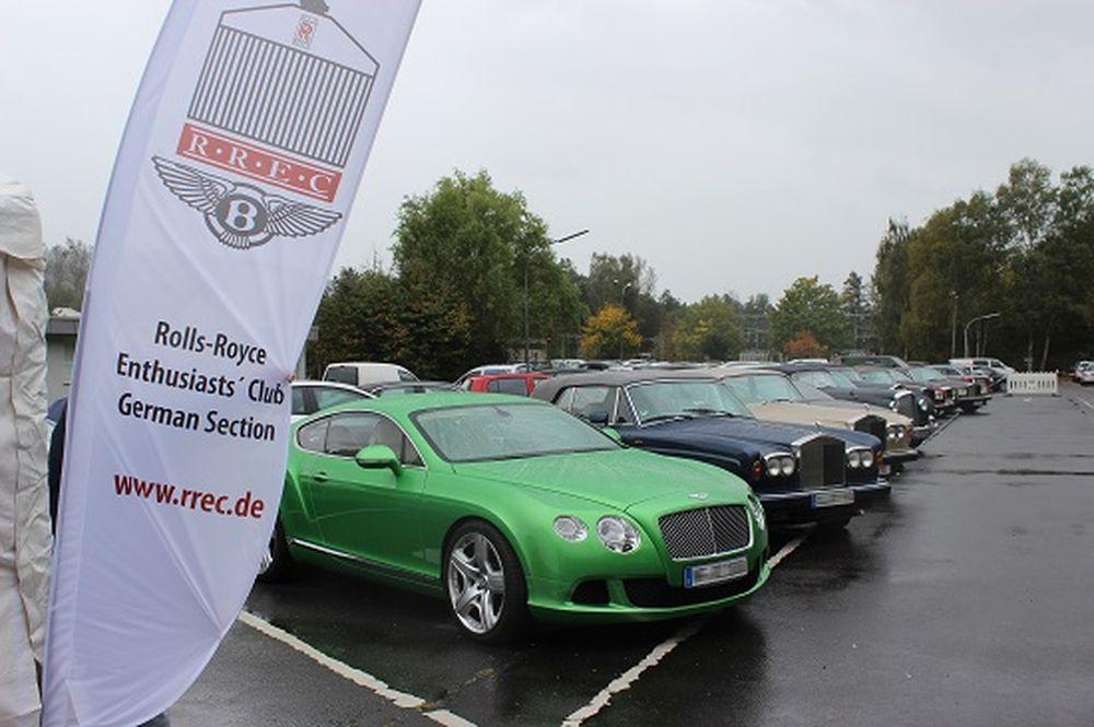 Rolls-Royce Enthusiasts' Club auf Tour