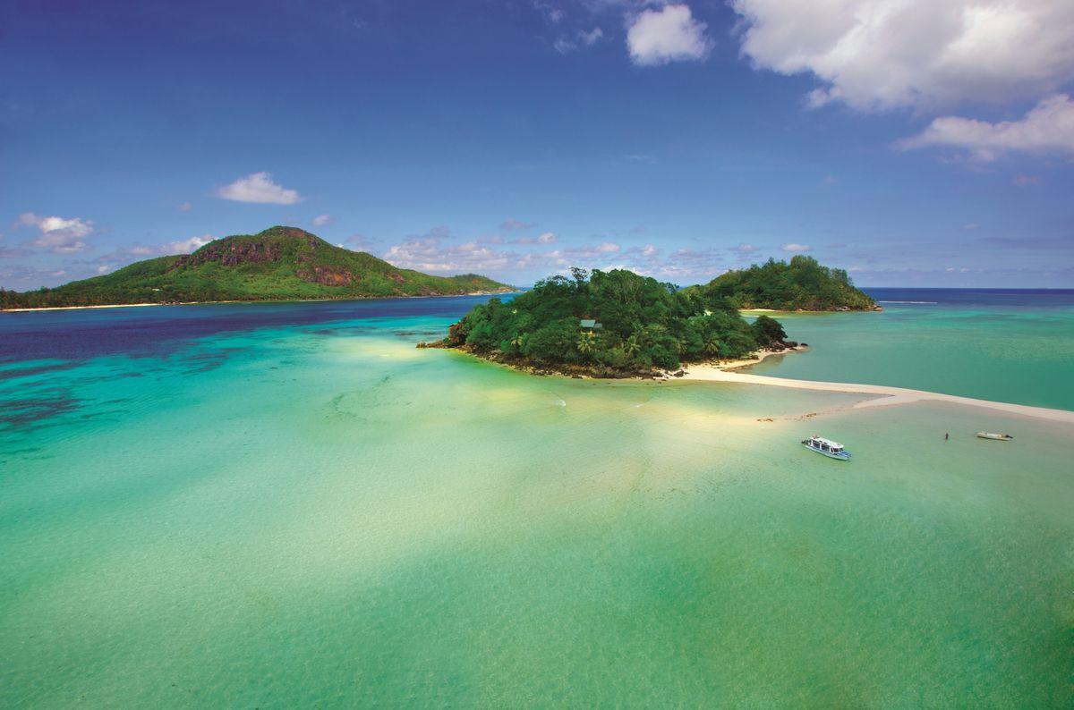 Round Island – Kreisrunde Insel mit zahlreichen Sandbänken