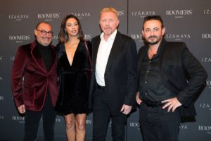 Micky Rosen, Boris Becker, Lilly Becker, Alex Urseanu