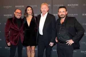 Micky Rosen, Boris Becker, Lilly Becker, Alex Urseanu