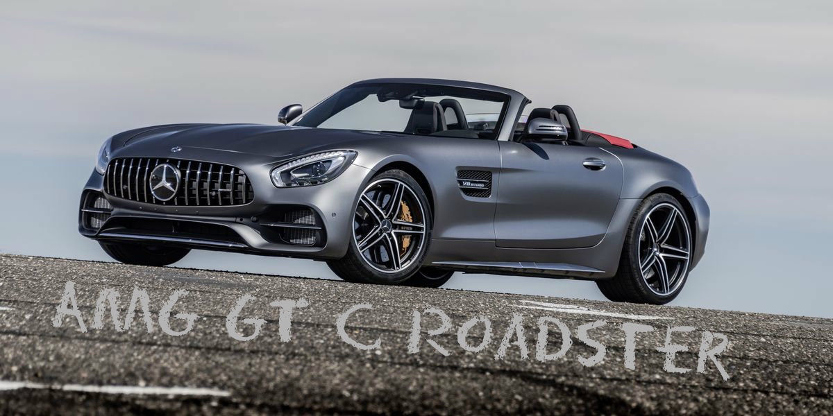 Test Video: Mercedes-AMG GT C Roadster (2017)