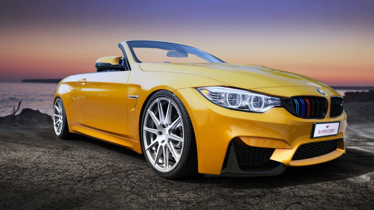 BMW M4 Cabrio, Barracuda Racing Wheels