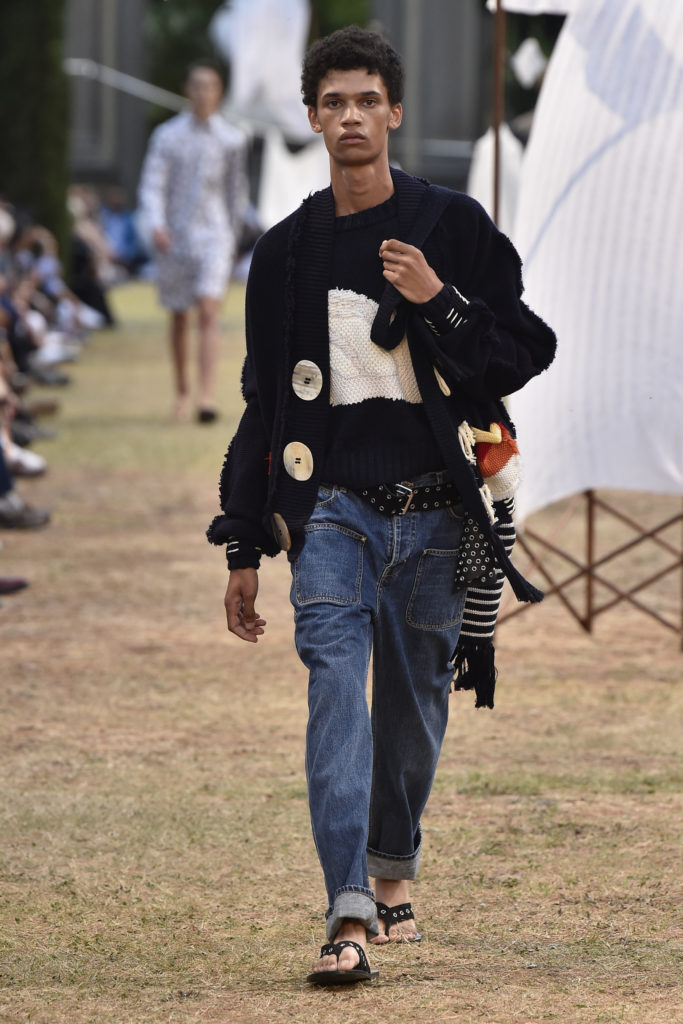 Milan Fashion Week: Cooler Casual-Look bei JW Anderson (ddp images)