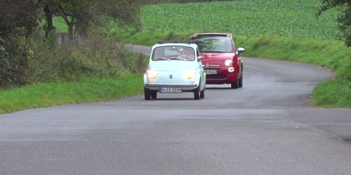 #Test Video: Fiat 500 (1968 und 2017)