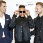 Style-Ikone Lewis Hamilton im KaDeWe