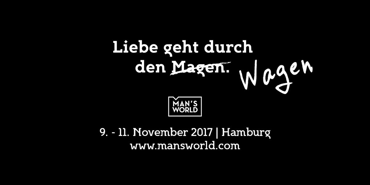 Man's World in Hamburg: Mode, Massives und Motoren
