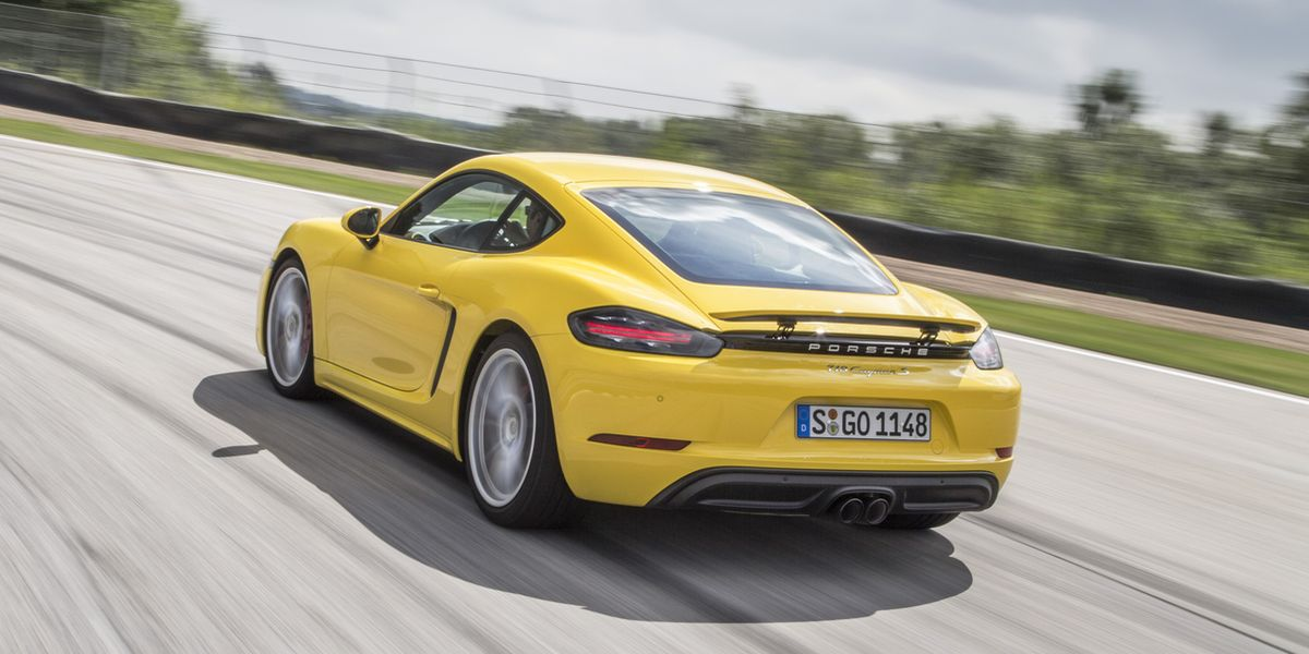 #Test Video: Porsche 718 Cayman S (2017)