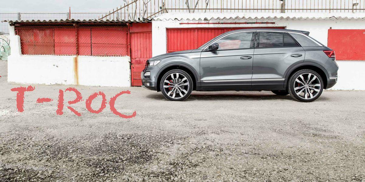 Test Volkswagen T-Roc: Der Hingucker
